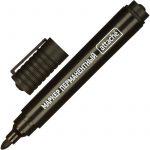 Маркер перманент ATTACHE черный 1,5-3мм.